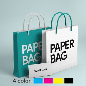RubikPrint Shopping Bag - 4 Color